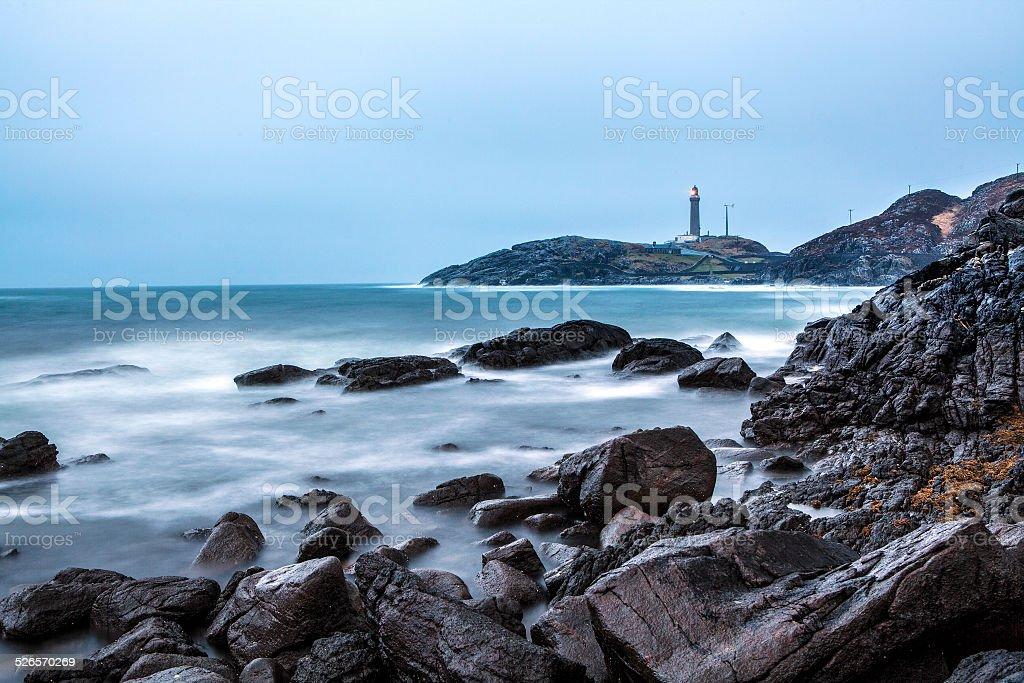 Aardamurchin Lighthouse stock photo