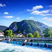 Aare river, Switzerland