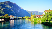 Aare river, Switzerland