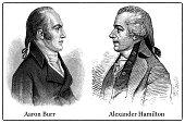 Aaron Burr and Alexander Hamilton