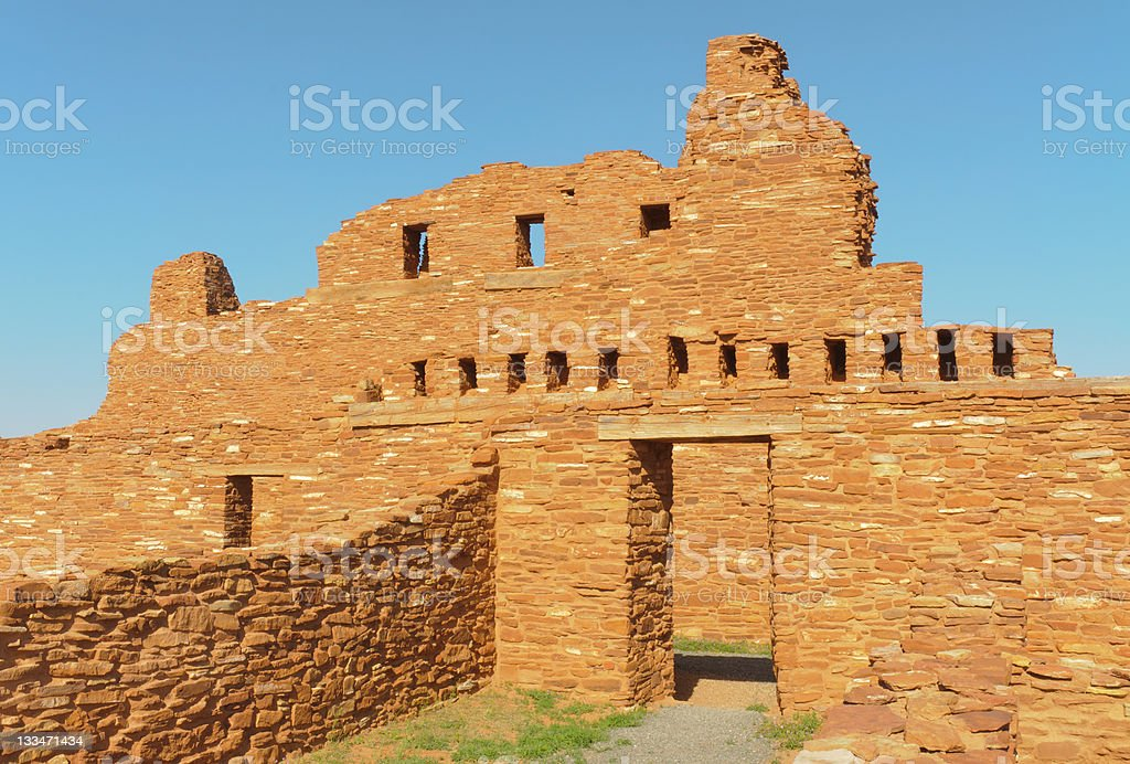 Ab? Ruins stock photo