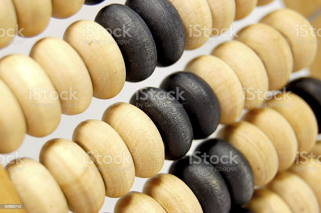 Abacus 2 royalty-free stock photo