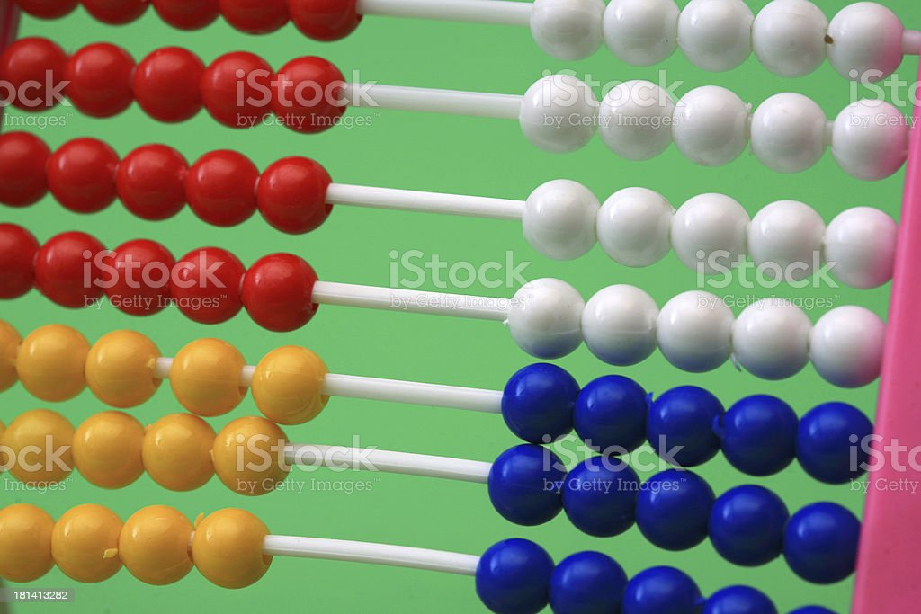 abacus background royalty-free stock photo