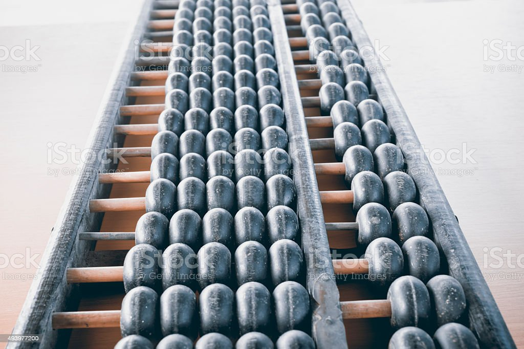 Abacus. royalty-free stock photo