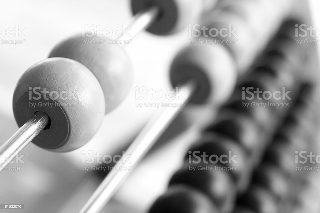Abacus royalty-free stock photo