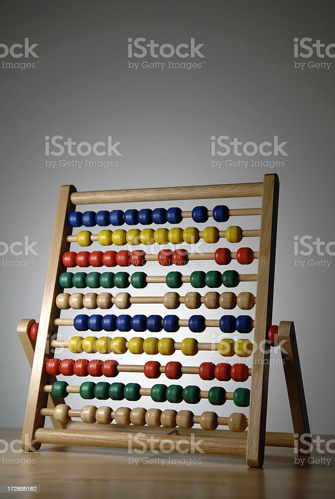 abacus series royalty-free stock photo