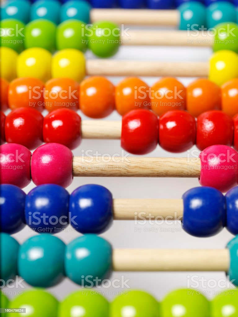 Abacus,counting royalty-free stock photo