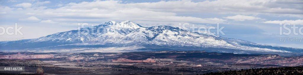 Abajo Panorama stock photo