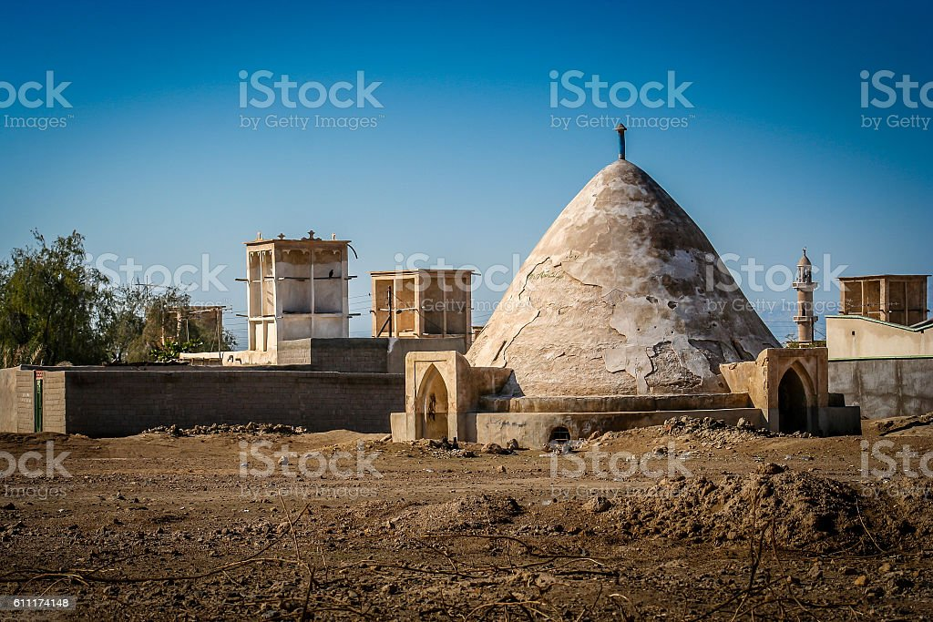 Abanbar - traditional water storage stock photo