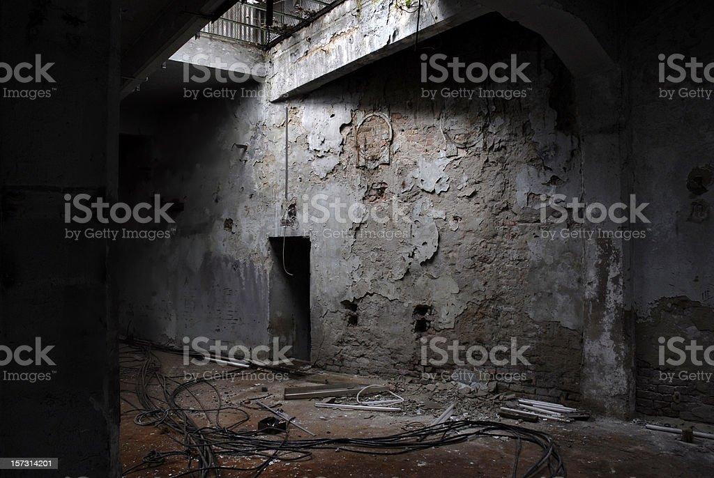 abandon factory royalty-free stock photo