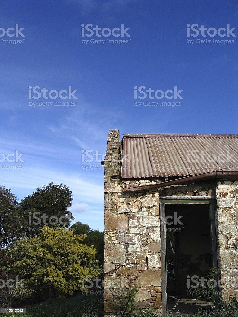 Abandon Farmhouses II stock photo