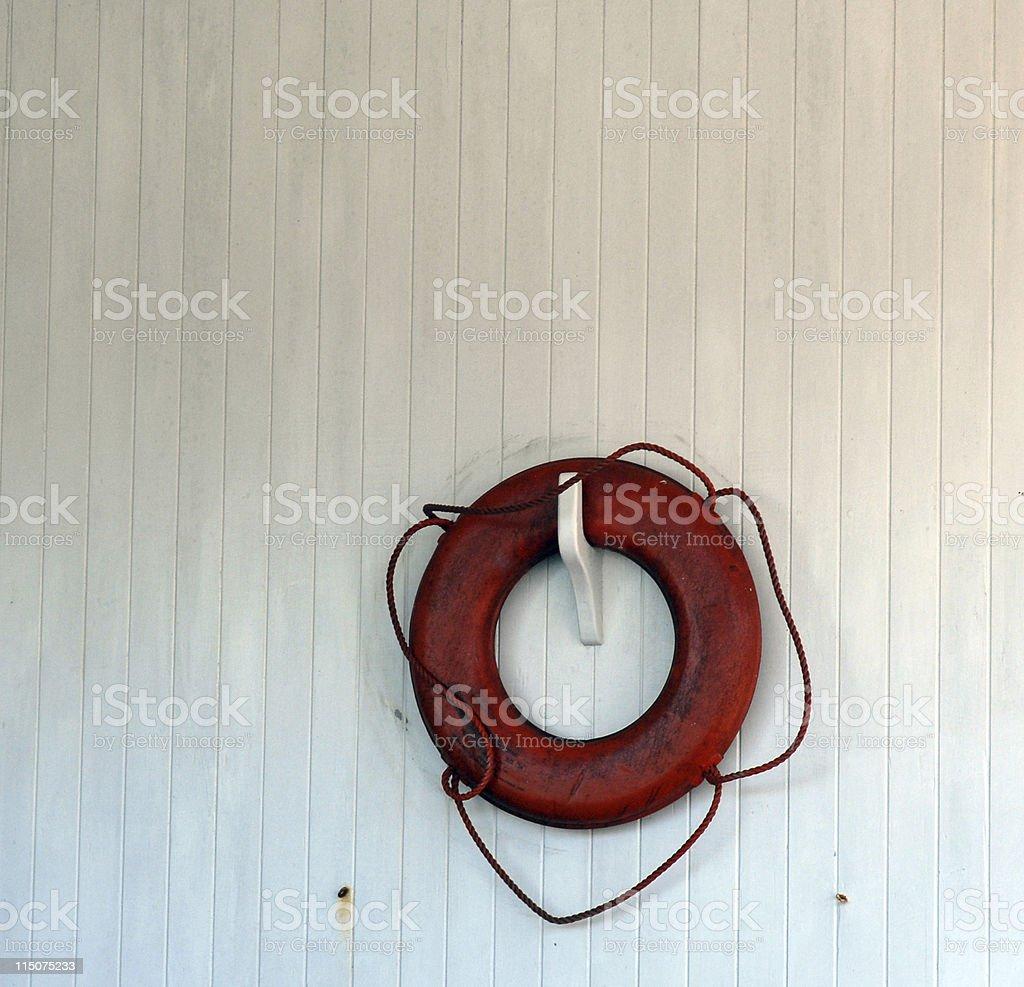 Abandon on White stock photo