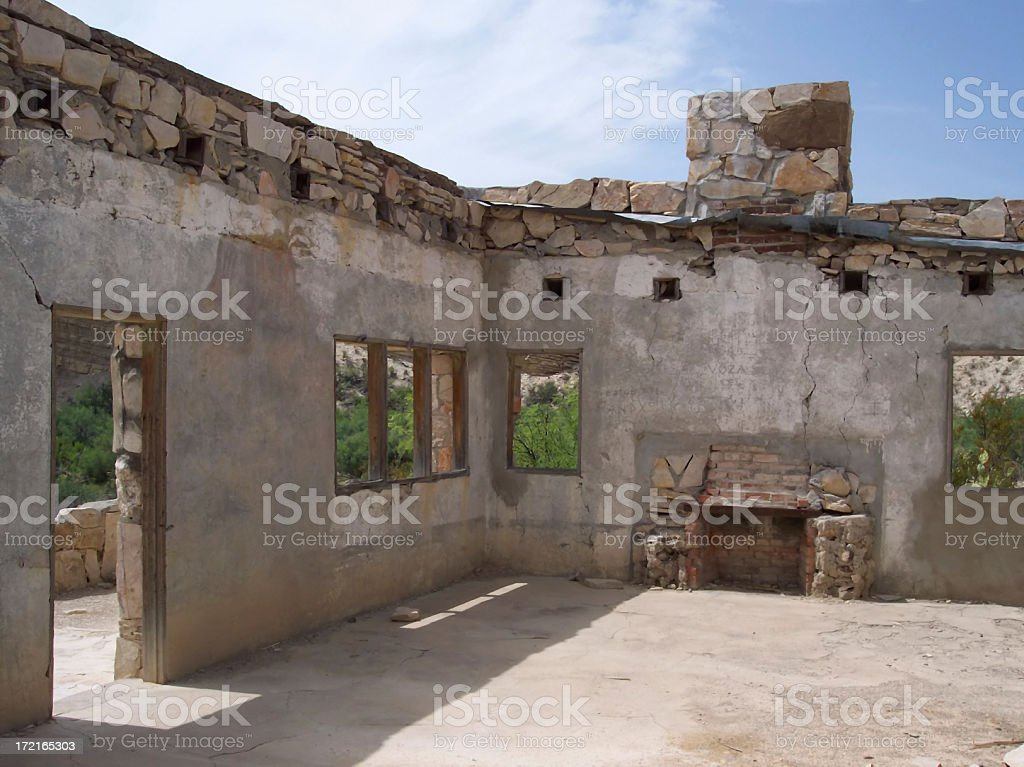 Abandoned Abode stock photo