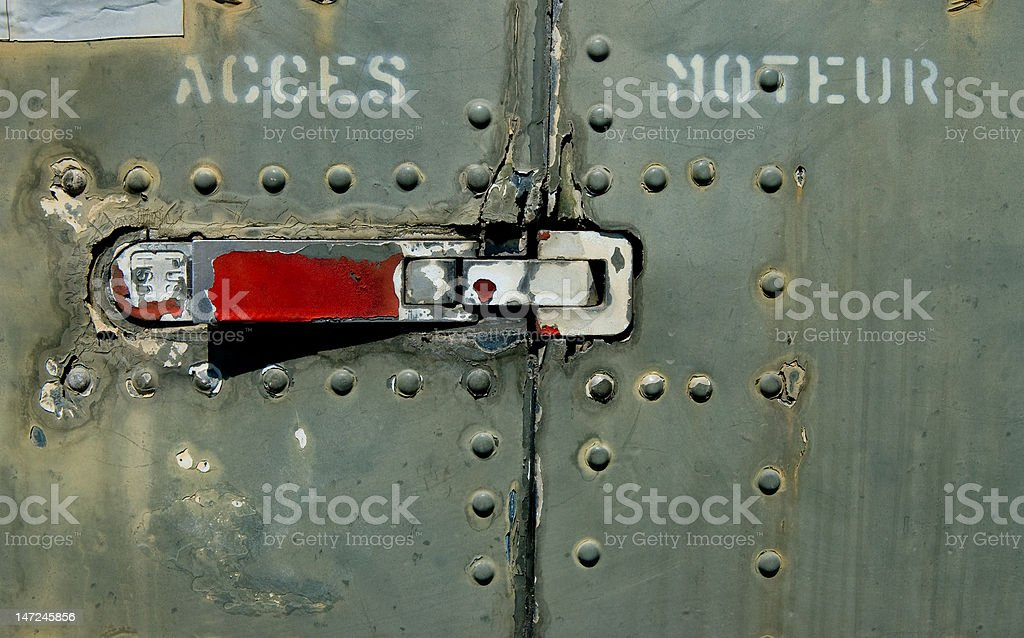 Abandoned Aircraft (Details) stock photo
