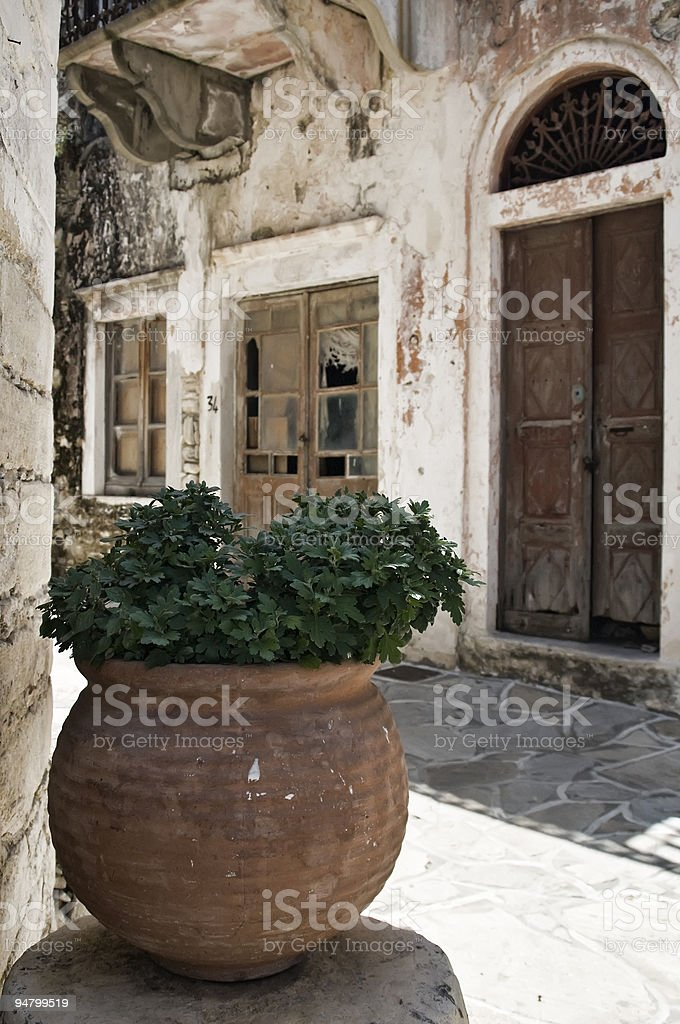 Abandoned Alley royalty-free stock photo