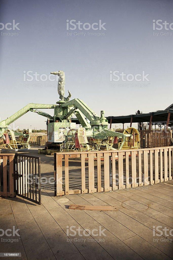 Abandoned Amusement Park royalty-free stock photo