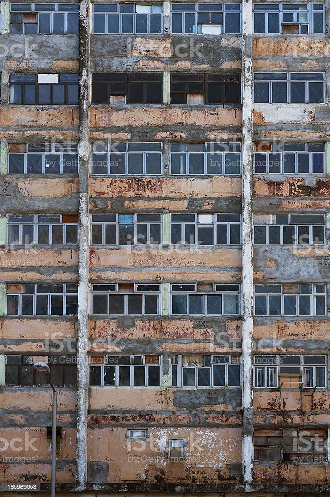Abandoned apartment royalty-free stock photo