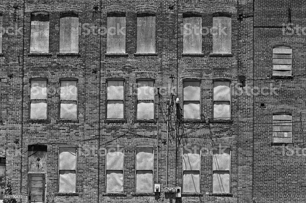 Abandoned Automotive Factory - Worn, Broken and Forgotten I photo libre de droits