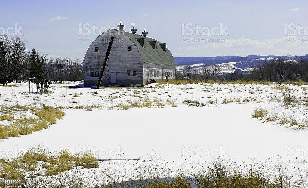Abandoned Barn stock photo