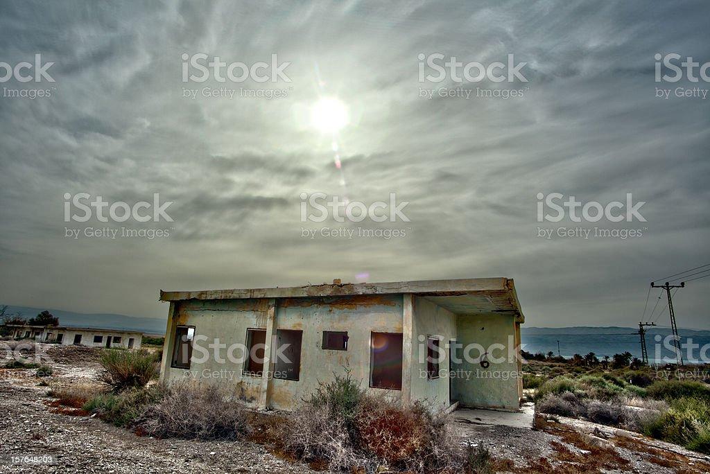 Abandoned Barracks royalty-free stock photo