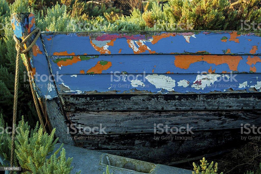 Abandoned Boat 2 royalty-free stock photo