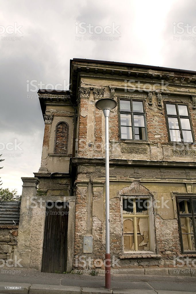 Abandoned Building Czech Village royalty-free stock photo