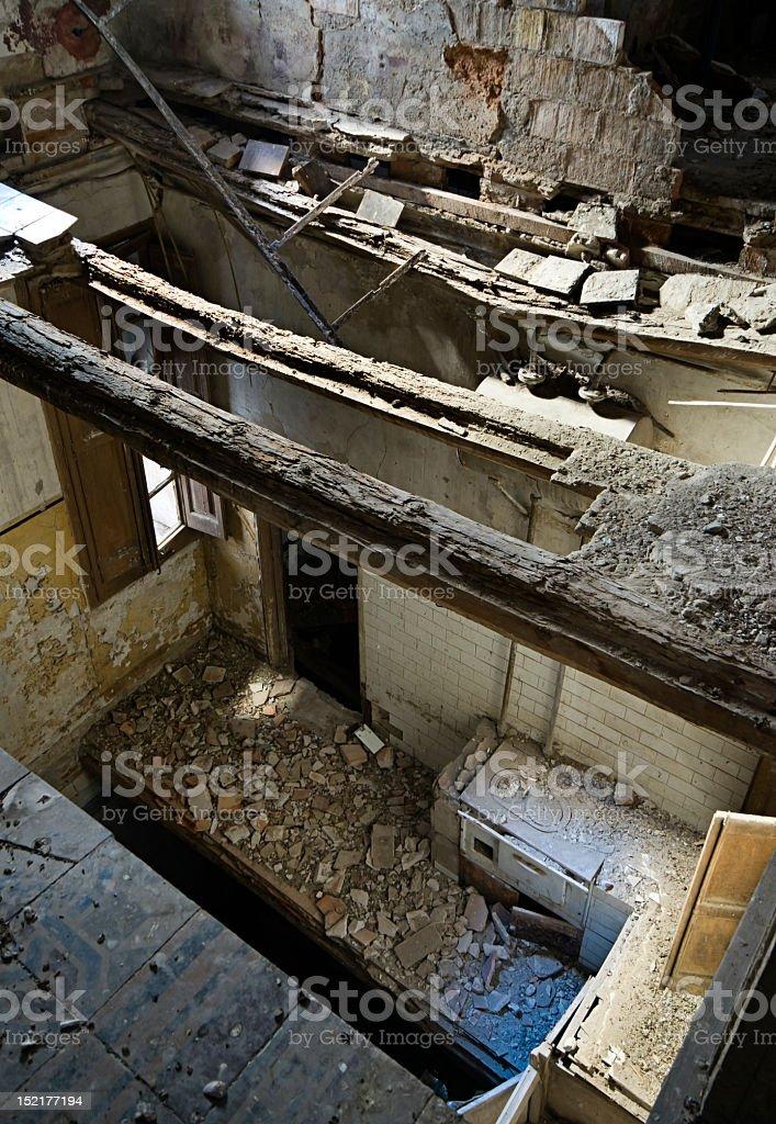 Opuszczony Budynek zbiór zdjęć royalty-free