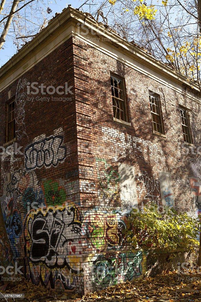 abandoned building royalty-free stock photo