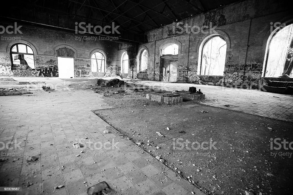 abandoned building royalty-free stock photo