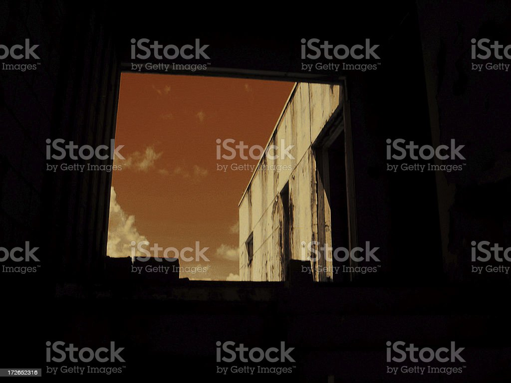 Abandoned Building VII royalty-free stock photo