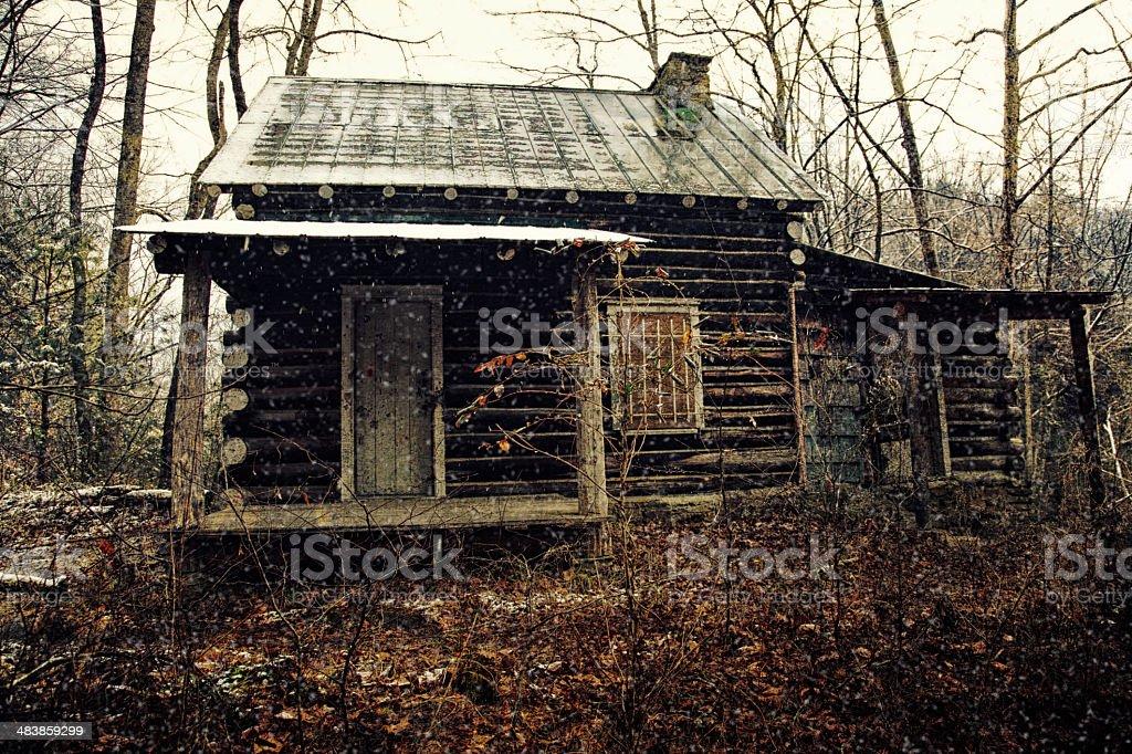 Abandoned Cabin royalty-free stock photo