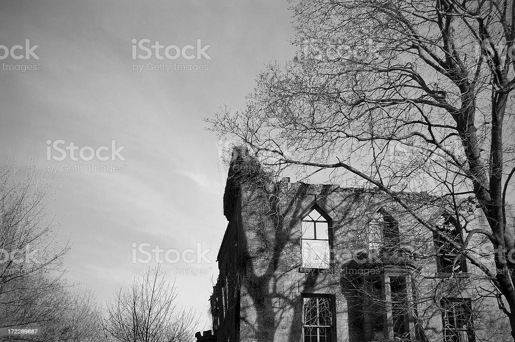 Abandoned Castle royalty-free stock photo
