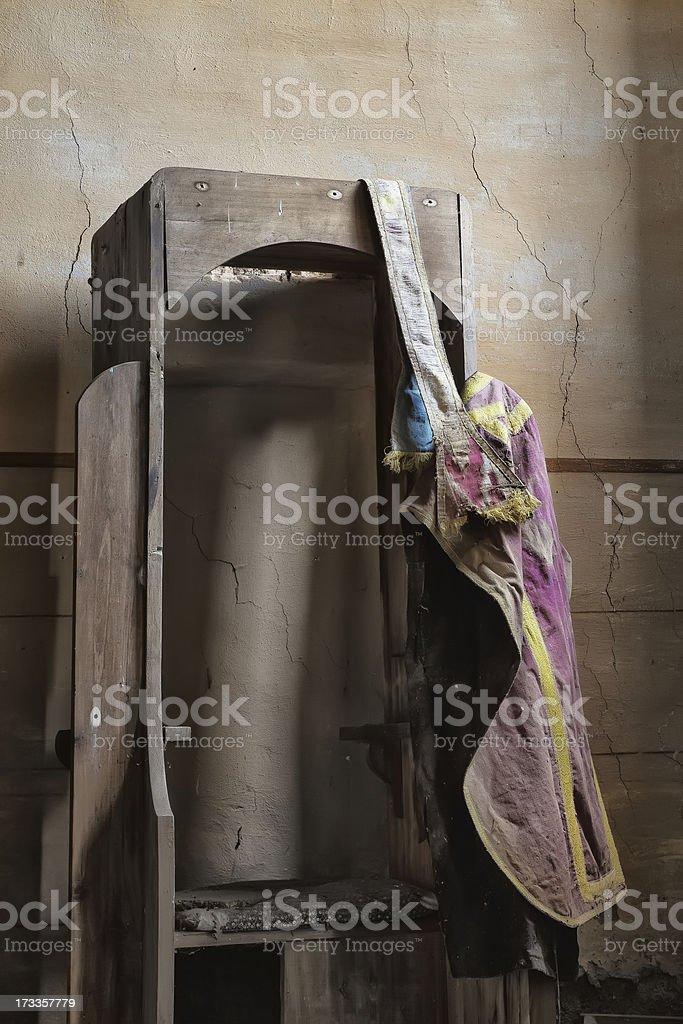 Abandoned church royalty-free stock photo