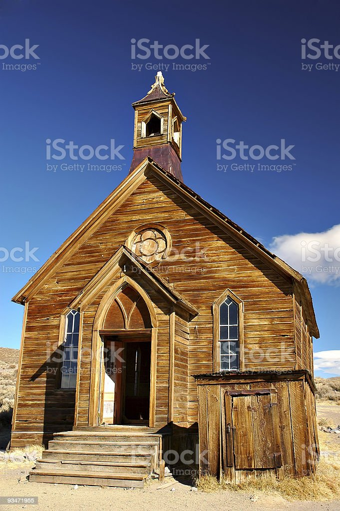 Abandoned Church royalty-free stock photo