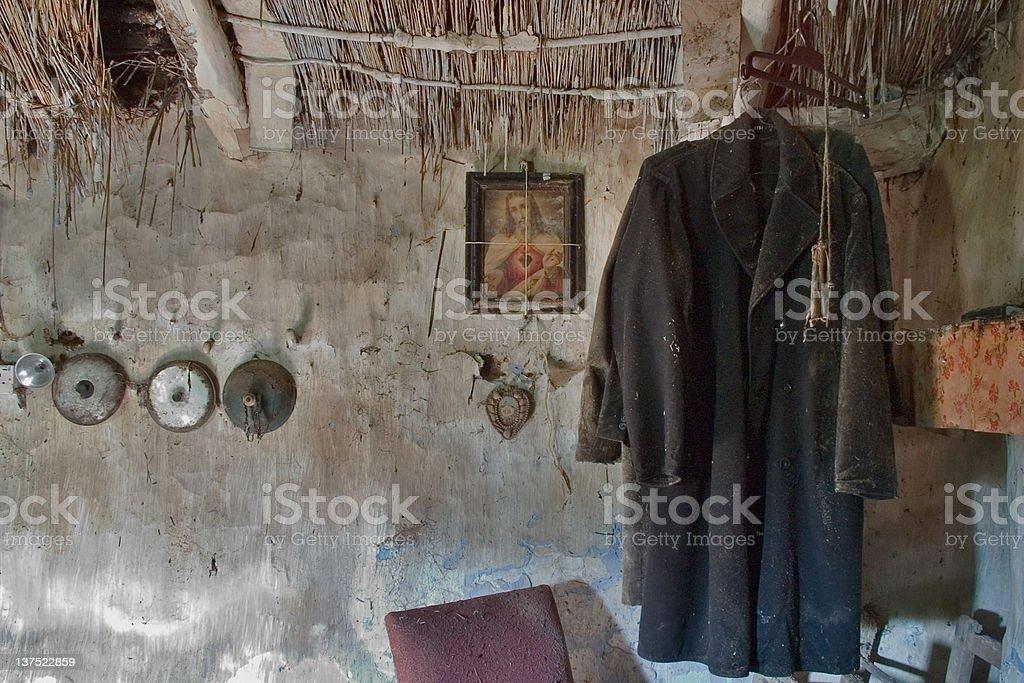 Abandoned coats royalty-free stock photo