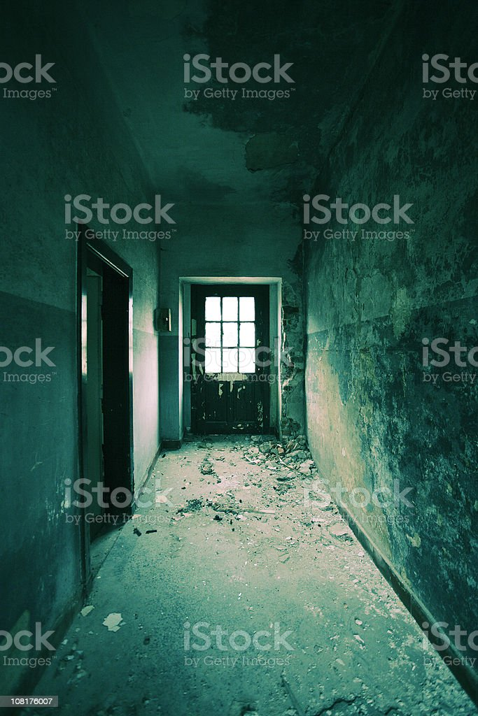 Abandoned Derelict House royalty-free stock photo