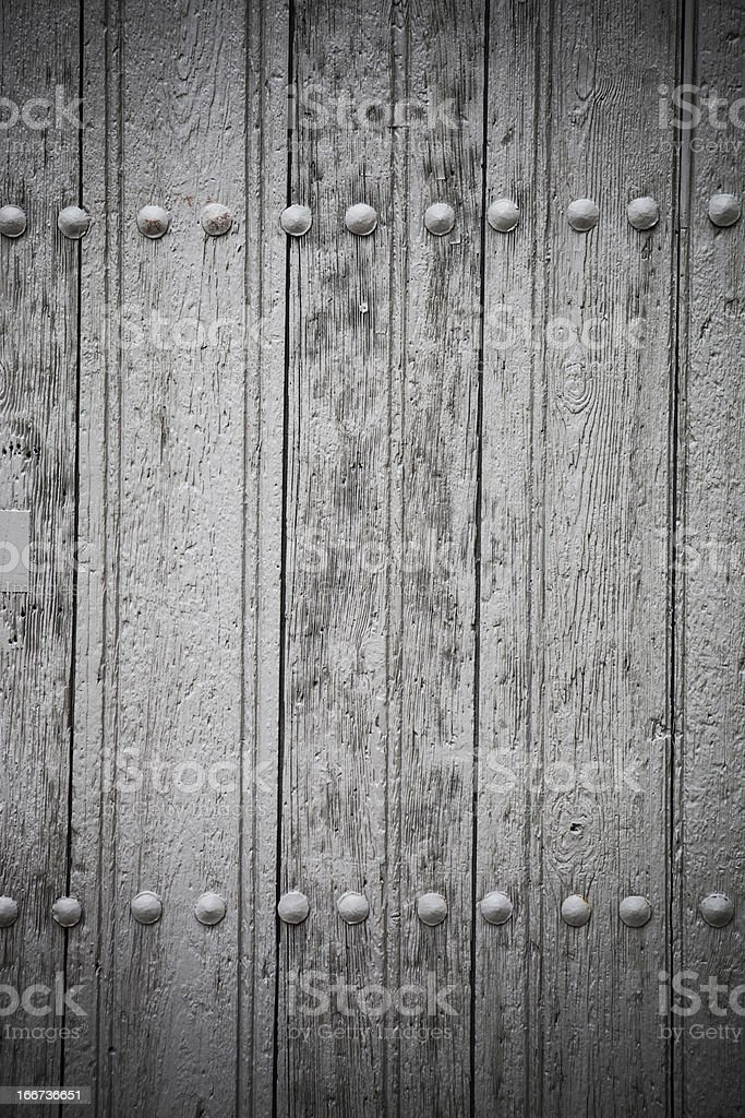 Abandoned door royalty-free stock photo