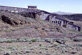 Abandoned Duncan Gold mine Atlantic City South Pass Wyoming