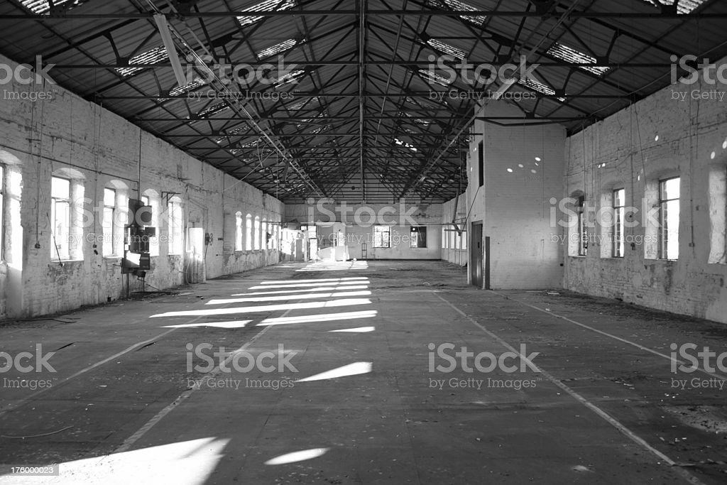 Abandoned Factory - interior2 royalty-free stock photo