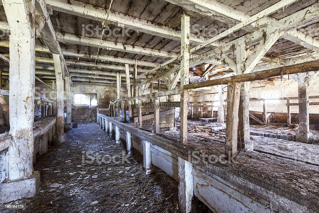 Abandoned farm royalty-free stock photo