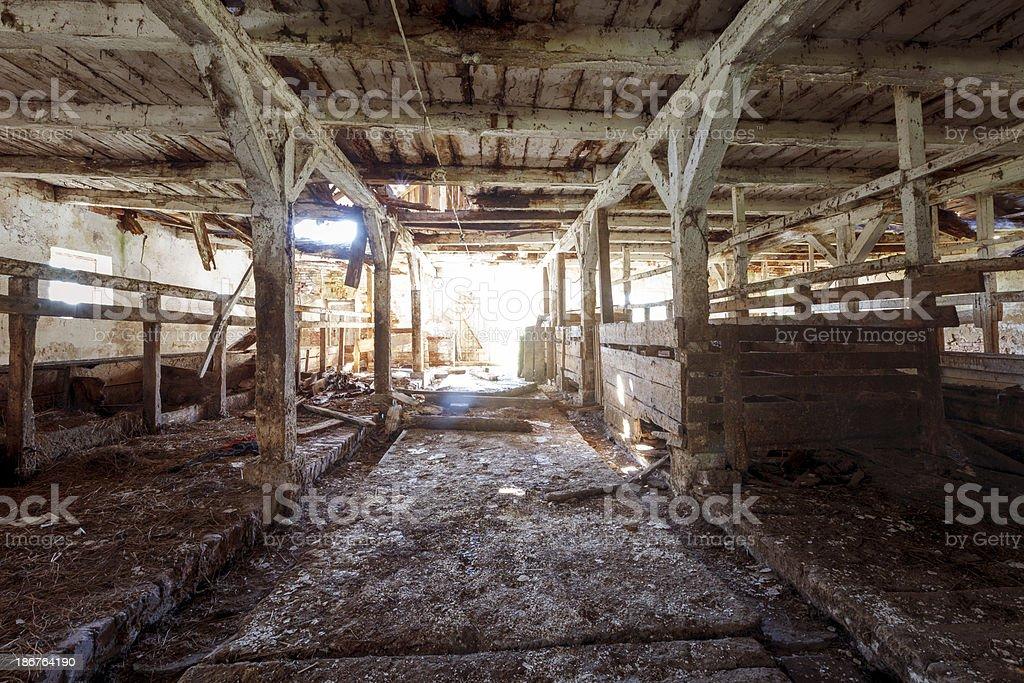 Abandoned farm royalty-free stock photo