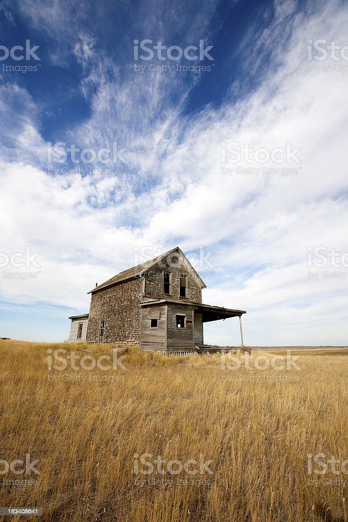 Abandoned Farmhouse royalty-free stock photo