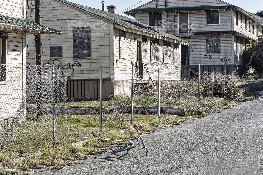 Abandoned Fort Ord Army Post royalty-free stock photo
