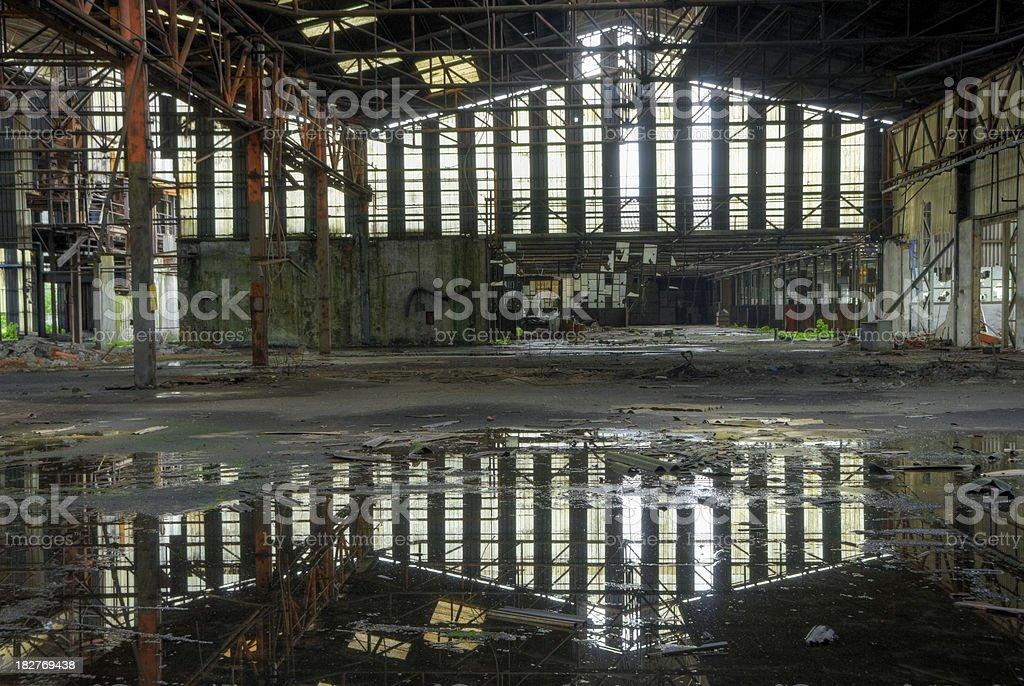 Abandoned foundry royalty-free stock photo