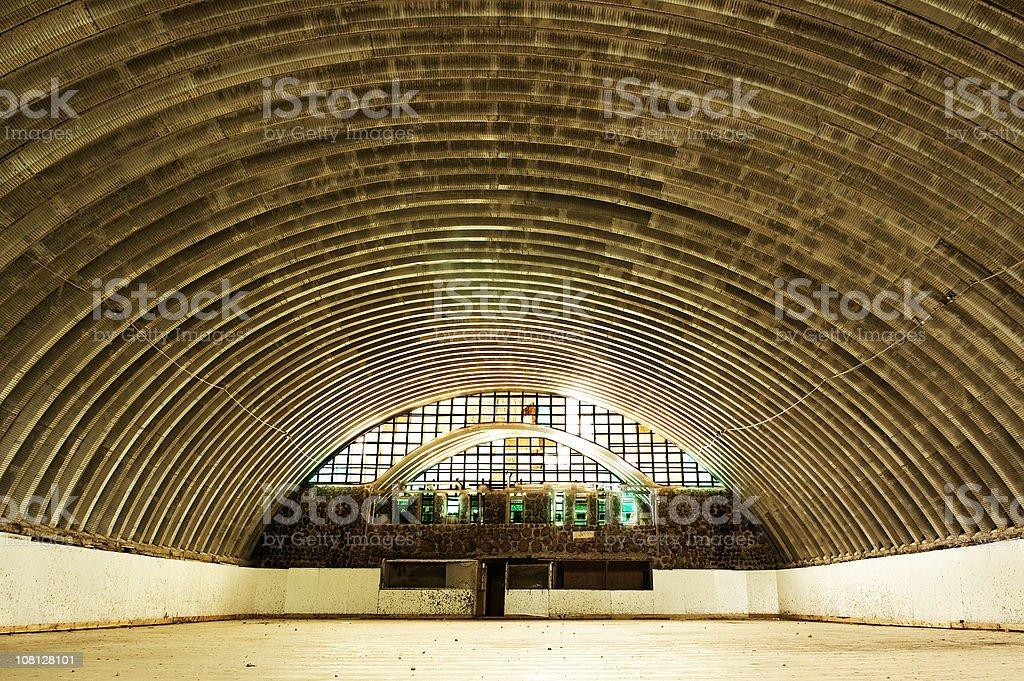 Abandoned Hockey Rink royalty-free stock photo