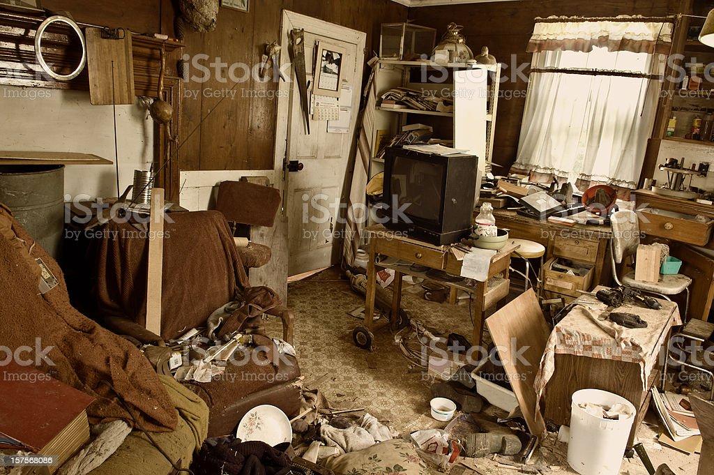 Abandoned Home stock photo