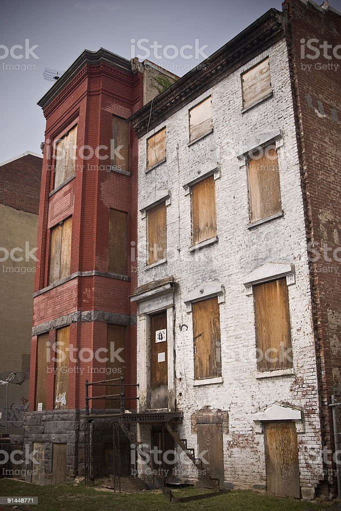 Abandoned Homes stock photo