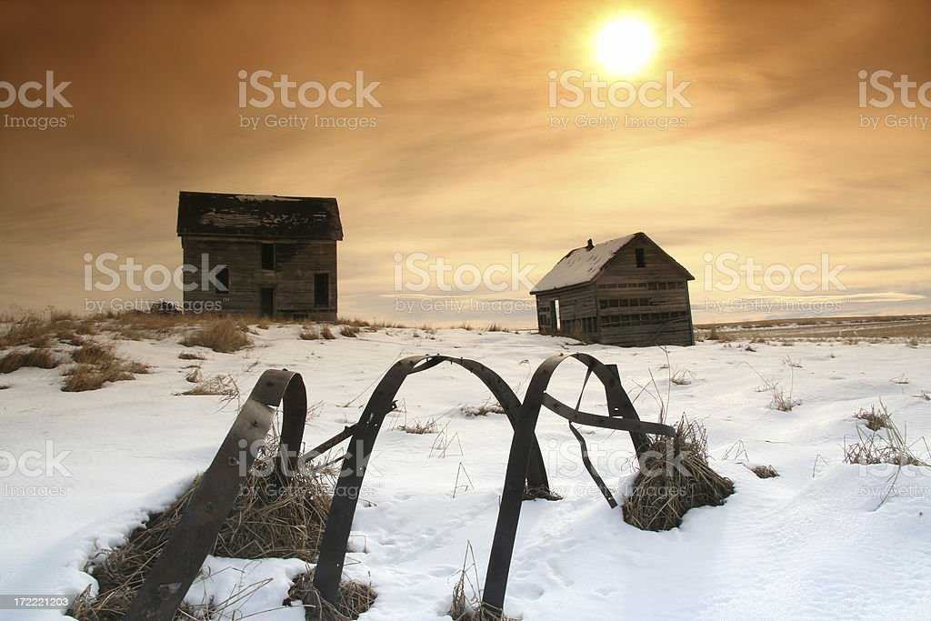 Abandoned Homestead royalty-free stock photo