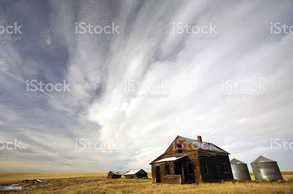 Abandoned Homestead royalty-free stock photo
