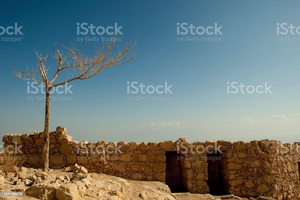 Abandonado parlamento de Israel foto de stock libre de derechos